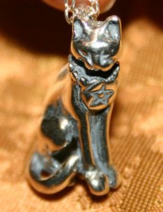 Wiccan kitty cat :)  or familiar, I guess?