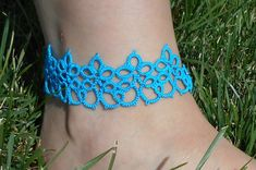 Use coupon code PINTEREST for 10% off!  tatted anklet gypsy anklet gypsy jewelry boho anklet by MamaTats
