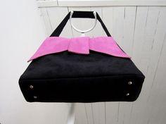 Poser des pieds et un fond semi-rigide dans un sac #couture #tuto