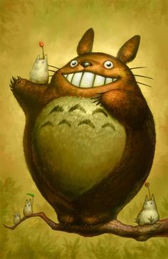 totoro, miyazaki, studio ghibli  #totoro