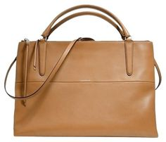 Coach Satchel in Camel