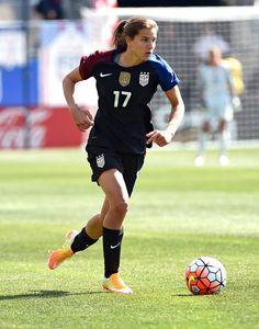Tobin Heath vs. Colombia, April 10, 2016. (Eric Hartline/USA Today Sports)