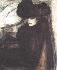 József Rippl-Rónai was a Hungarian post-impressionist associated with the avant-garde group, Les Nabis. 1890s.