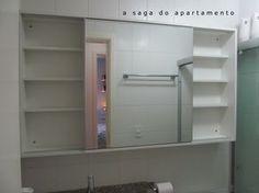 armario branco banheiro madeira