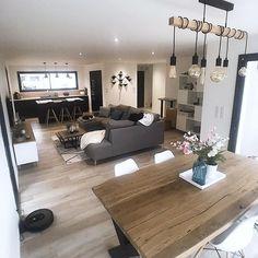 Home Room Design, Home Interior Design, Living Room Designs, House Design, Home Living Room, Living Room Decor, Casa Loft, Small Apartment Decorating, House Rooms