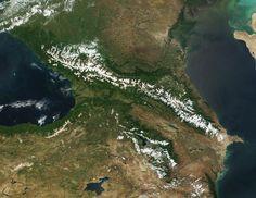 Kaukasus - Caucasus Mountains - Wikipedia, the free encyclopedia