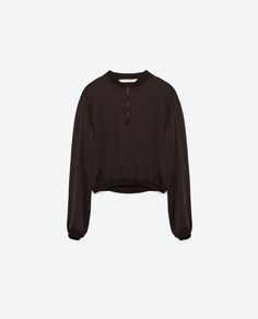 Image 8 of EMBROIDERED SATEEN TOP from Zara