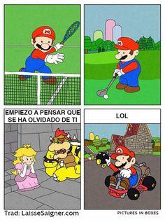 Mario se ha olvidado de ti. #humor #risa #graciosas #chistosas #divertidas