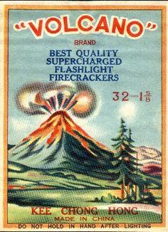 Volcano firecrackers