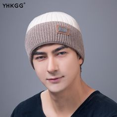Knitted Winter Hats for Men 75656129b1f5