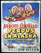 Movie Poster, Lobby Card, Australian Daybill, Vintage Movie Posters, Autograph Abbott and Costello Bud Abbott, Whos On First, Abbott And Costello, Original Movie Posters, Vintage Movies, Travel Posters, Alaska, Lost