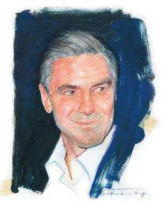 Clooney, técnica mixta