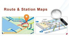 West Japan Route & Station Maps