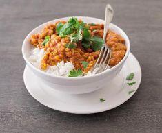 Kari z červené čočky | Recepty Albert No Salt Recipes, Garam Masala, Weight Loss Smoothies, Fried Rice, Vegetarian Recipes, Curry, Food And Drink, Meals, Vegan