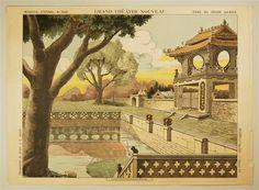 Imagerie d'Épinal, No 1644. Grand Théâtre Nouveau. Fond du Décor Chinois.