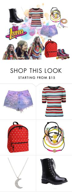 """""""soy luna"""" by maria-look on Polyvore featuring Topshop, JWorld, Carole and Finn"""