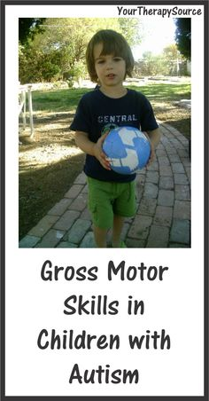 gross motor skills in children with autism