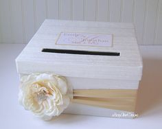 Card Box for Wedding Money Holder  You by LaceyClaireDesigns, $73.00