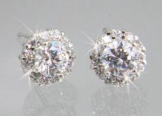Crystal Stud Earrings Bridal Earrings Wedding by CrystalAvenues, $16.00