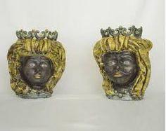 31 immagini incredibili di teste di moro ceramica for Arredamento artistico