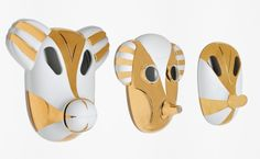 Decorative masks MaskHayon designed by Jaime Hayon for Bosa