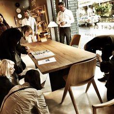 dk3_design_furnitureTREE TABLE details... Story telling... #dk3 #treetable #jacobplejdrup #greatdanefurniture #fitzroy #melbourne #australia www.dk3.dk