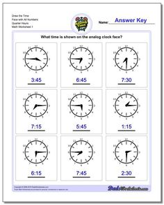 Telling Analog Time Draw the Face with All Numbers Full Hours Worksheet! Telling Analog Time Draw the Face with All Numbers Full Hours Worksheet Time Worksheets Grade 3, Clock Worksheets, Place Value Worksheets, Free Printable Math Worksheets, Addition Worksheets, Kindergarten Math Worksheets, Worksheets For Kids, Math Resources, In Kindergarten