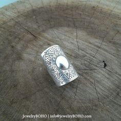 BOHO 925 Silver Ring-Gypsy Hippie Ring,Bohemian style,Statement Ring R016 JewelryBOHO,Handmade 925 Sterling silver BOHO Tribal ring