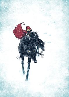 Red Hood and The Wolf by Skottie Young
