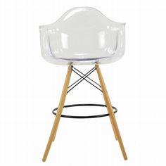 The DAW Bar Stool is a quirky take on a classic dining chair we all know and love! The beech wood legs contrast perfectly with the attractive and cosy seat.