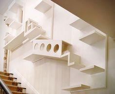 Espacios creativos Diseñado para su gato diseno de interiores  Decoracion ideas