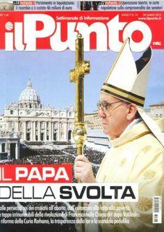 La copertina del settimanale nazionale Il Punto ☆ Vincenzo Pìtaro