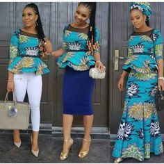 beautiful african print tops