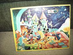 Vintage Walt Disney world-color Walt Disney world Puzzles