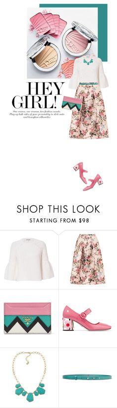 """""""Hei girl!"""" by federica-m ❤ liked on Polyvore featuring Elizabeth and James, Ted Baker, Prada, Ralph Lauren, M Missoni, tedbaker, ralphlauren and mmissoni"""
