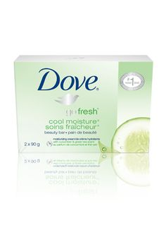 go fresh® Cool Moisture®  Beauty Bar