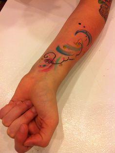 Amanda Wachob, Daredevil Tattoo (NYC) - Amanda is an amazing tattoo artist and such a sweet person!