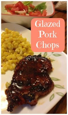 Easy Recipes-Glazed Pork Chops TheMomMaven.com