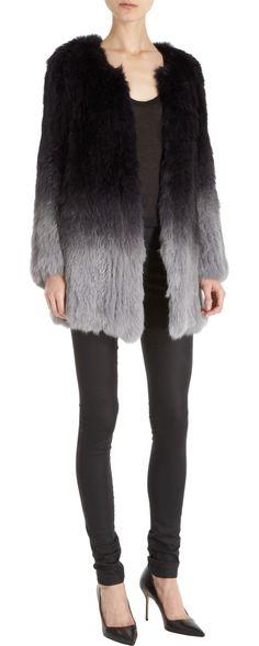 MAX AND MOI - Syracuse Fur Coat @ Barneys - NEW