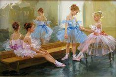 La salle de danse by Konstantin Razumov