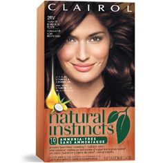 Natural Instincts Hair Color Instructions - Best Hair Color for Natural Black Hair Check more at http://frenzyhairstudio.com/natural-instincts-hair-color-instructions/
