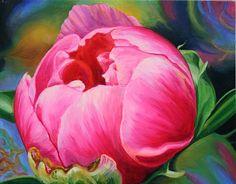 Art Journey Paintings: Peony Lisa