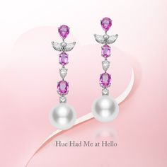 Wishing all a bright and colorful Valentine's Day. #Mikimoto #GiftOfALifetime