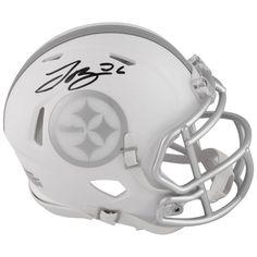 Le'Veon Bell Pittsburgh Steelers Fanatics Authentic Autographed Riddell ICE Speed Mini Helmet