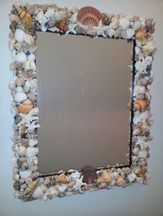 My first sea shell mirror!