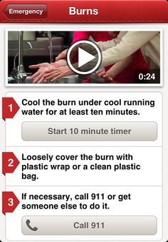 Red Cross First Aid App - Free