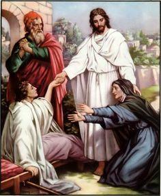 A TENDA NA ROCHA: Doze lições extraordinárias do encontro de Jesus com a viúva de Naim
