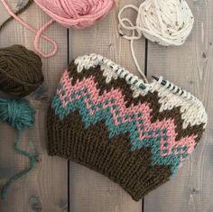 Baby Hats Knitting, Easy Knitting, Loom Knitting, Knitted Hats, Crochet Hats, Fair Isle Knitting Patterns, Crochet Patterns, Hat Patterns, Knitting Projects
