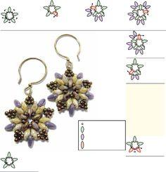 * Starburst Earrings