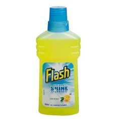 Flash Crisp Lemons is the All Purpose Cleaner that offers you a universal solution for your entire home Cleaning Cupboard, All Purpose Cleaners, Crisp, Bottle, Flask, Jars